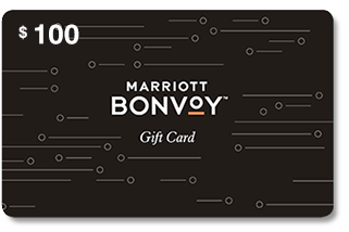 Marriott Bonvoy Gift Card 100