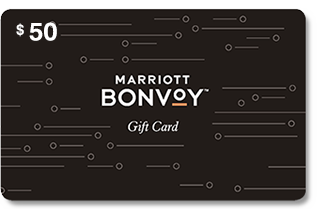 Marriott Bonvoy Gift Card 50