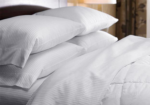 White Stripe Bedding Set Westin Hotel Store