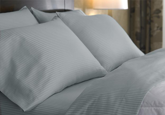 Platinum Stripe Sheet Set