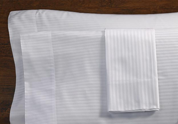 White Stripe Pillowcases