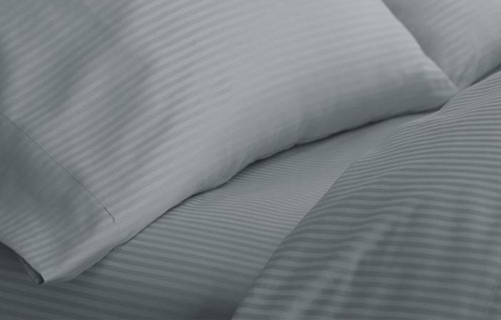 Platinum Stripe Fitted Sheet Westin Hotel Store