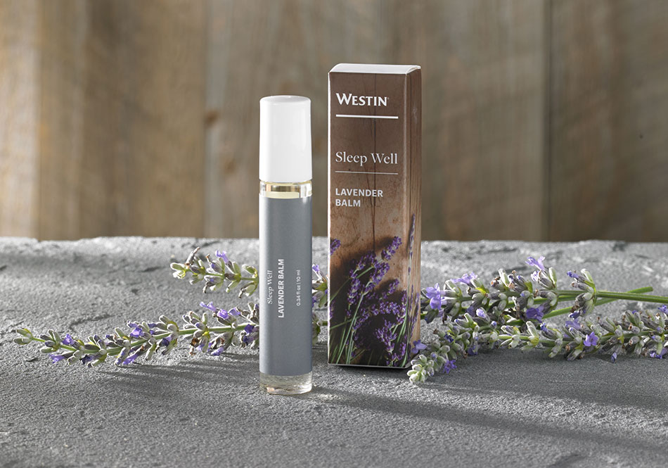 Sleep Well Lavender Balm Westin Hotel Store